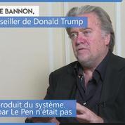 Européennes : «Le projet d'intégration (...) est mort», estime Steve Bannon, l'ex-conseiller de Trump
