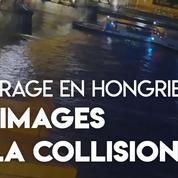 Accident de bateau sur le Danube : les images de la collision