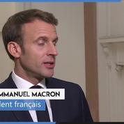 ETA: «La réconciliation politique ne vaut pas amnistie», estime Macron