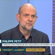 Vincent Lambert : menace sur les handicapés ? Le témoignage de Philippe Petit