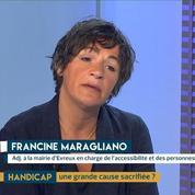 Handicap : Évreux, ville exemplaire pour l'accessibilité ? Le témoignage de Francine Maragliano