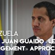 Venezuela : Guaido se dit «optimiste» malgré son soulèvement militaire manqué