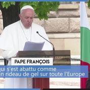 En visite en Bulgarie, le pape s'inquiète du dépeuplement du pays qu'il qualifie «d