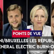 Points de vue du 29 mai : Salvini et Bruxelles, LR, General Electric, burn-out