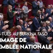 L'hommage de l'Assemblée nationale aux soldats tués au Burkina Faso