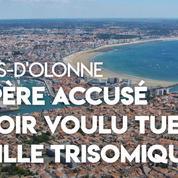 Sables-d'Olonne : un père soupçonné d'avoir voulu tuer sa fille trisomique en jetant leur voiture dans l'océan