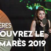 Molières : l'essentiel du palmarès 2019