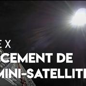 Space X a lancé ses premiers satellites destinés à fournir Internet depuis l'espace