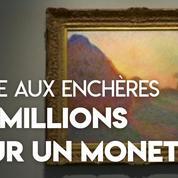 110,7 millions de dollars : vente record pour un Monet