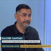 Orthographe : transmettre l'amour des mots par Rachid Santaki
