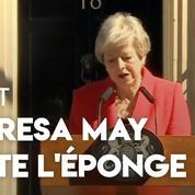 Royaume-Uni : émue aux larmes, Theresa May annonce sa démission