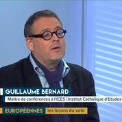 Européennes : France : quelle recomposition ? L'analyse de Guillaume Bernard
