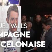 Barcelone : à la traîne dans les sondages, Manuel Valls lance sa campagne pour les municipales
