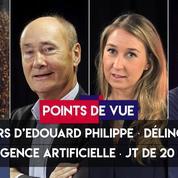 Points de vue du 13 juin : discours d'Edouard Philippe, délinquance, intelligence artificielle, journal télévisé