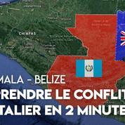 Guatemala - Belize : retour sur un conflit frontalier vieux de près de 200 ans