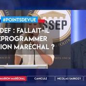 Medef : fallait-il déprogrammer Marion Maréchal ?