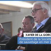 Tempête Miguel : le président de la SNSM rend hommage aux sauveteurs morts en mer