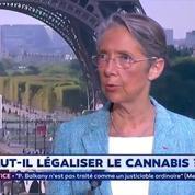 Cannabis : «Il n'y aura pas de légalisation», affirme Elisabeth Borne