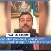 Salvini menace le navire humanitaire qui se dirige vers l'Italie