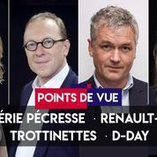 Points de vue du 6 juin : Valérie Pécresse, Renault-Fiat, trottinettes, D-Day