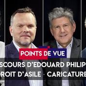 Points de vue du 12 juin : discours d'Edouard Philippe, droit d'asile, caricatures