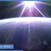 Captivant timelapse de la Terre vue de la station spatiale internationale de la Nasa