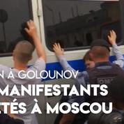 Marche de soutien à Ivan Golounov : 400 manifestants arrêtés à Moscou