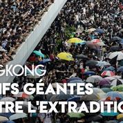 Hongkong : des affrontements éclatent entre policiers et manifestants