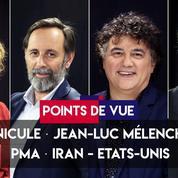 Points de vue du 24 juin : canicule, Jean-Luc Mélenchon, PMA, Iran-Etats-Unis