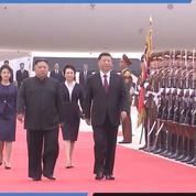 Corée du Nord : les images de l'arrivée de Xi Jinping