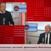 «On est dans des écuries présidentielles plus que dans la refondation du parti» cingle le président par intérim de LR
