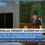 Algérie : le président par intérim appelle au «dialogue inclusif» pour un «scrutin dans les meilleurs délais»