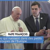 Pour le pape François, l'Europe «a perdu l'illusion de travailler ensemble»