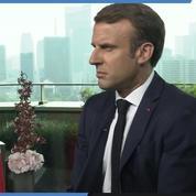 «Vous n'êtes pas la génération du train-train», explique Emmanuel Macron aux jeunes depuis le Japon