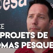 Un pied sur Mars, mission vers la lune... Thomas Pesquet nous parle de ses projets