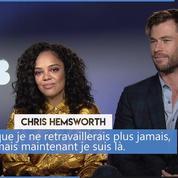 Men in Black 4 : «Pour moi c'était avant tout l'opportunité de retravailler ensemble» (C. Hemsworth)
