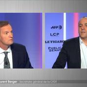 Canicule : «On peut aussi activer le télétravail», rappelle Laurent Berger