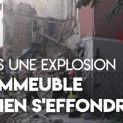 Italie : effondrement d'un immeuble de deux étages après une explosion