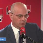 Jean-Michel Blanquer juge «incompréhensible» une grève le jour du bac