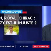 Fillon, Royal, Chirac : Sarkozy est-il injuste ?