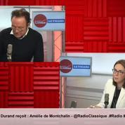 Présidence de la Commission européenne : «Nous ne voulons pas d'automaticité en Europe», avertit Amélie de Montchalin