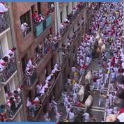 Espagne : début de la fête des taureaux