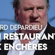 Gérard Depardieu : ventes aux enchères après la fermeture de son restaurant parisien