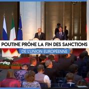 En visite à Rome, Vladimir Poutine «ne voit pas d'obstacle» à des relations avec l'UE sans sanctions