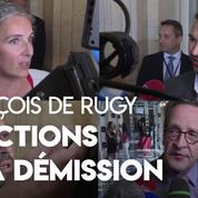 Les réactions à la suite de la démission de François de Rugy