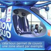 Hovertaxi, le taxi volant français