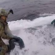 L'interception musclée d'un narco sous-marin par des gardes-côtes américains