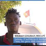 Naufrage au large de la Tunisie: témoignage d'un rescapé
