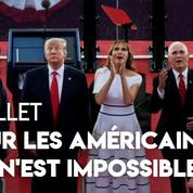 «Pour les Américains, rien n'est impossible» : Donald Trump en rassembleur patriote pour le 4 Juillet