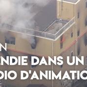Japon : un incendie présumé d'origine criminelle dans un studio d'animation